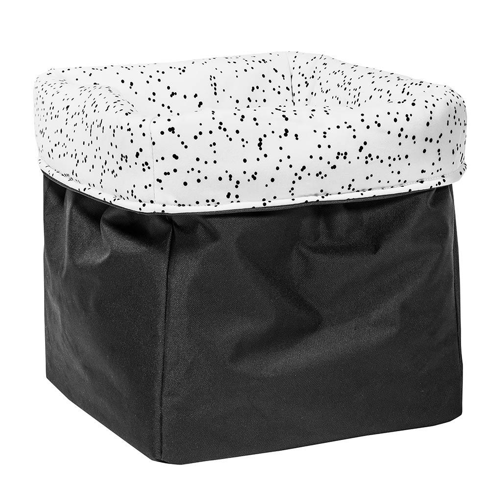 MEINE LIEBE – BOX DOTS • WEISS • GROSS • 33x33x33cm