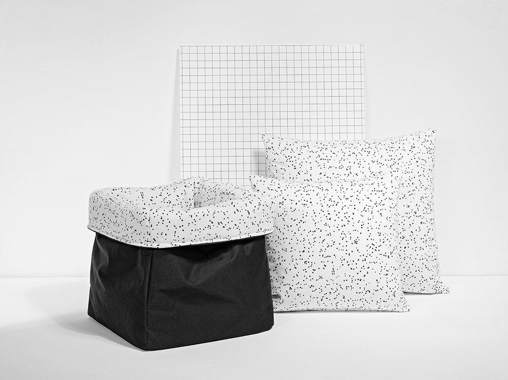 MEINE LIEBE – BOX DOTS • WEISS • KLEIN • 20x20x20cm
