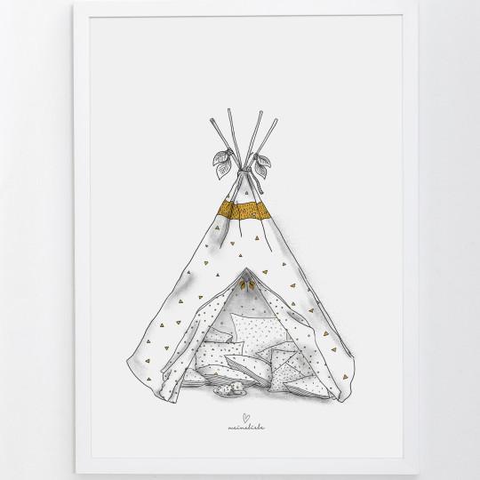 MEINE LIEBE – POSTER TIPI • Din A3 29,7x42cm 3
