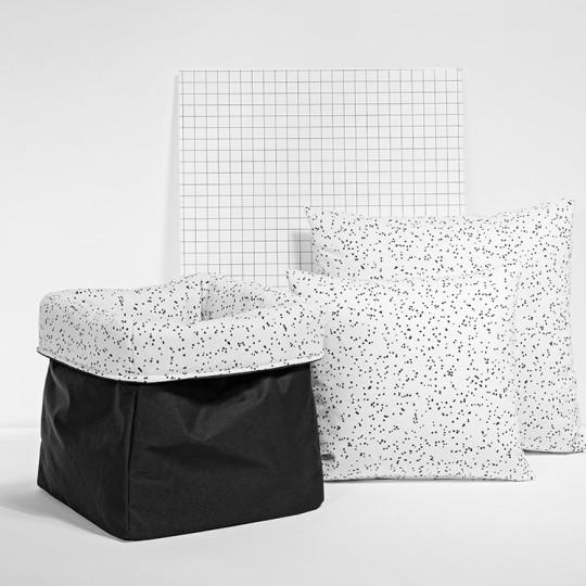 MEINE LIEBE – BOX DOTS • WEISS • KLEIN • 20x20x20cm 5