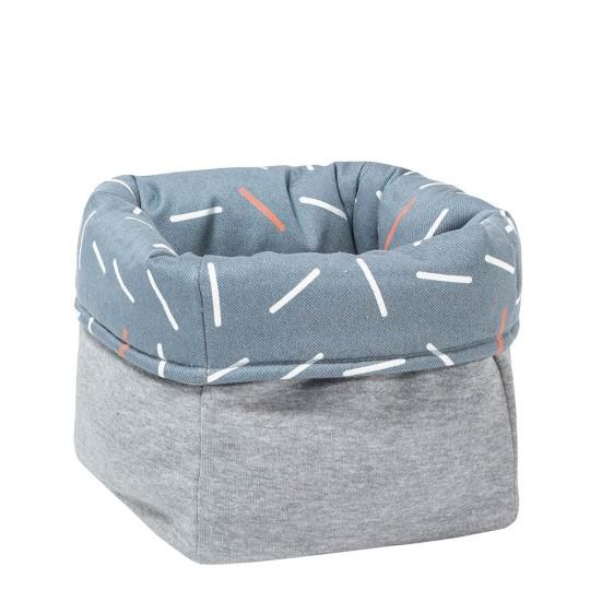 MEINE LIEBE – BOX STICKS • JEANSBLAU • KLEIN • 20x20x20cm